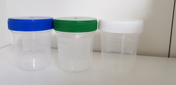 Spare cup / storage cup with lid: