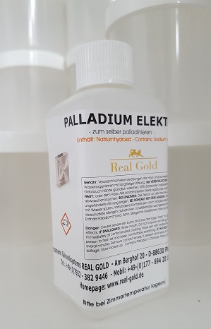 Palladium 2 Gramm / Liter