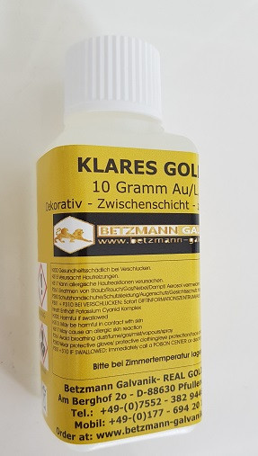 Klar Gold 10 Gramm - K-Gold