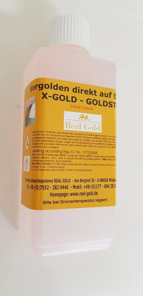 X-Gold 4 Gramm / Liter - Goldstrike