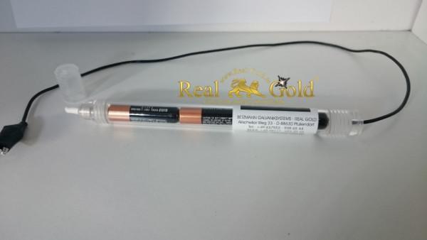 Stiftgalvanik mit Batterie und 5 Stiftpads