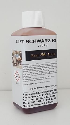 Schwarz-Rhodium