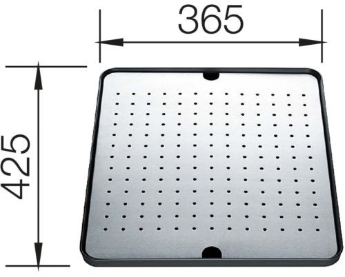 Flat Grounding Tray - Drain Pan: