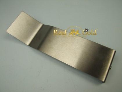 Flache Edelstahlektrode XL
