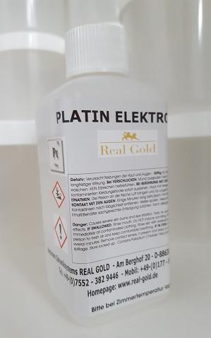 Platin - Platinelektrolyt